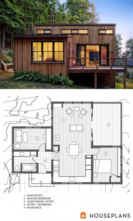 Amazing 138 Best 2Nd Home Images On Pinterest | Small Houses, Tiny House Building Designs On Half Plot Of Land Photo