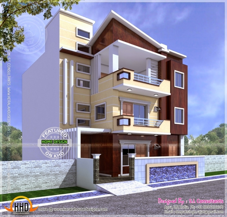 Amazing 27 Home Elevation Plan Ideas In Innovative June 2014 Kerala Design Front Elevation Of Indian House 30x50 Site Image