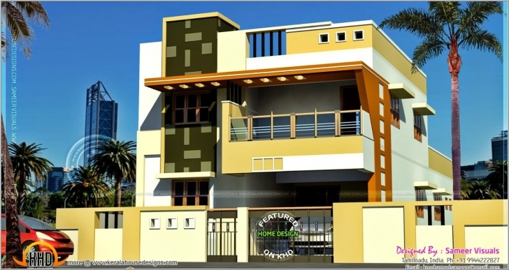 Amazing Home Design Front View Designs Ideas Online Tydrakedesign Modern Indian Village House Design Front View Image