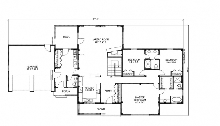 Amazing House Plans Ranch Style Home - House Plans | #25677 Ranch Style House Plans Picture
