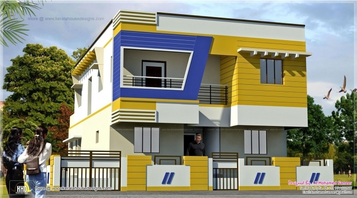 Amazing Inspirational Home Building Design In India | Homeideas Building Front Design India Pic