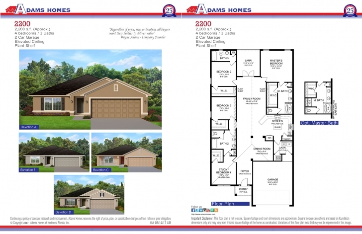 Amazing Lehigh Acres - Adams Homes 1540 House Design Picture