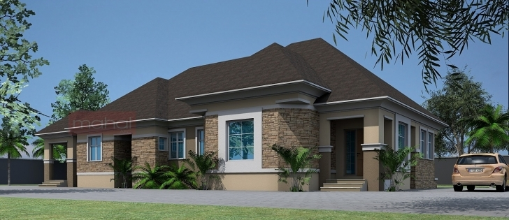 Amazing Modern Home Design Architectural Designs Bungalows Nigeria Modern 4 Bedroom House Plans In Nigeria Pic