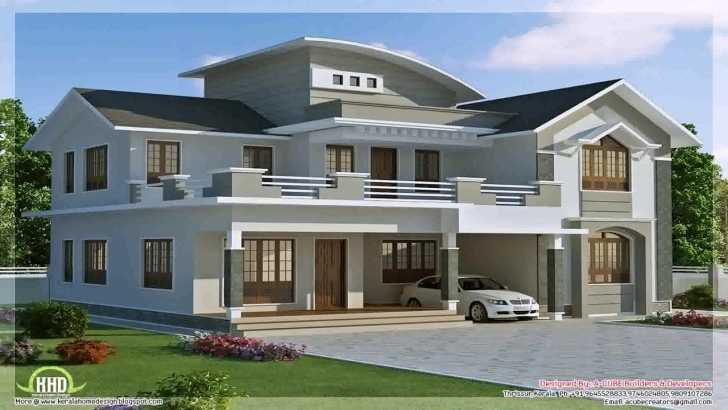 Amazing New Model House Design In Nepal - Youtube New Model House Images Pic