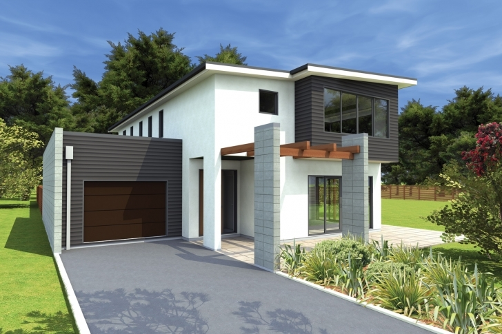 Amazing New Modern Homes Designs Zealand Home Design - Building Plans Online Free Simple Modern House Plans Picture