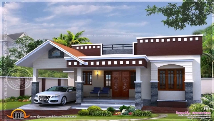 Amazing Simple House Plans In Kerala One Floor - Youtube Simple House Kerala Image