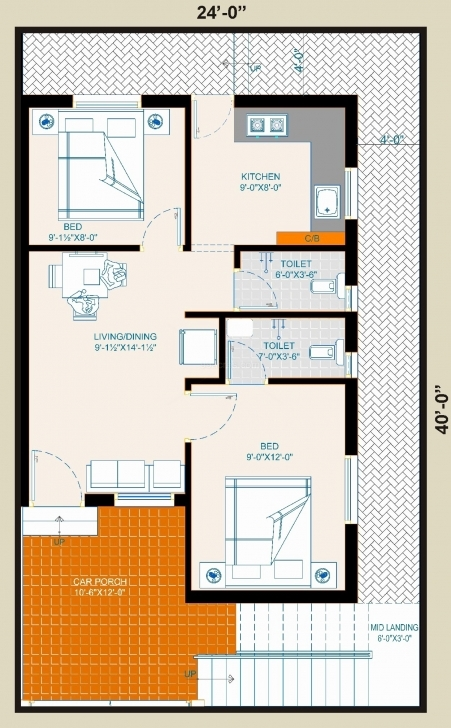 Amazing Small House Plans 850 Sq Ft Lovely Modern Style Plan 2 Beds 1 Fair House Plans Under 850 Sq Ft Image