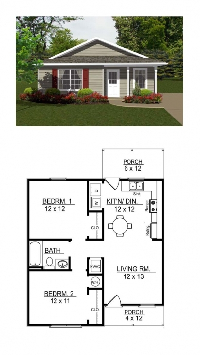 Amazing Traditional House Plan 96700 | Tiny House Plans, Tiny Houses And 3 Bedroom House Plan On Half Plot Of Land Photo