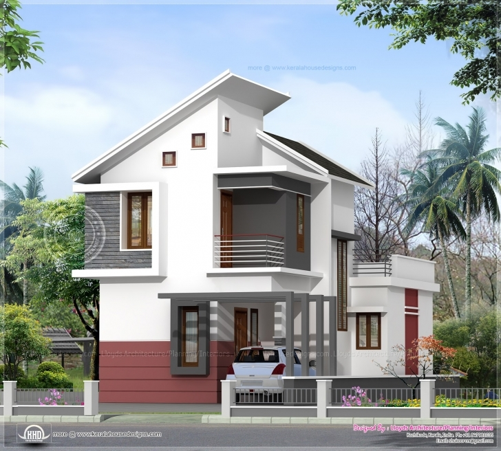 Astonishing 1197 Sq-Ft 3 Bedroom Villa In 3 Cents Plot | House Design Plans 2 Cent House Images Pic