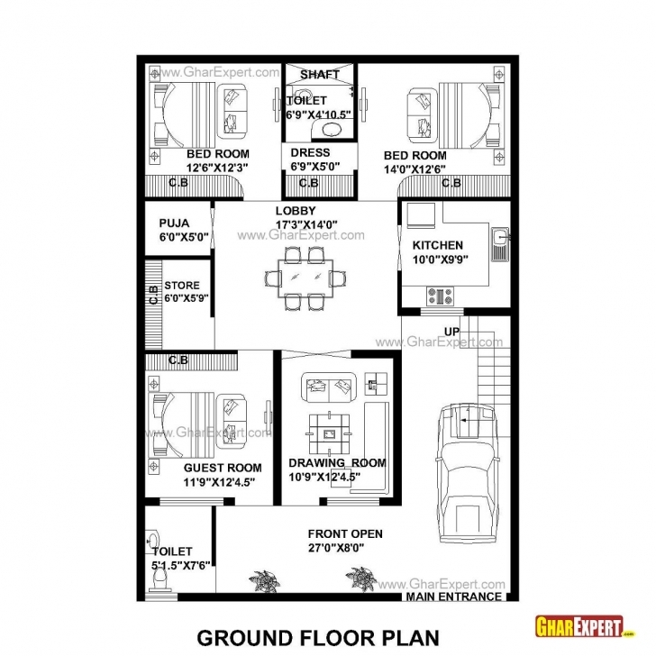 Astonishing Found On Google From Gharexpert | 2Bhk Plans | Pinterest | House 12 By50 House Plan Picture