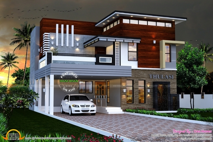 Astonishing Fresh Modern House Plans In Kerala With Photo Gallery Ideas - Home Kerala House Design 2018 Pic
