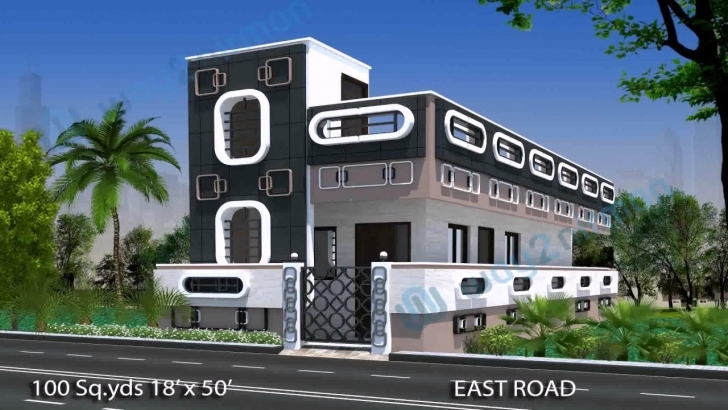 Astonishing House Elevation Plans Hyderabad - Youtube Single Floor House Front Elevation Designs In Hyderabad Photo
