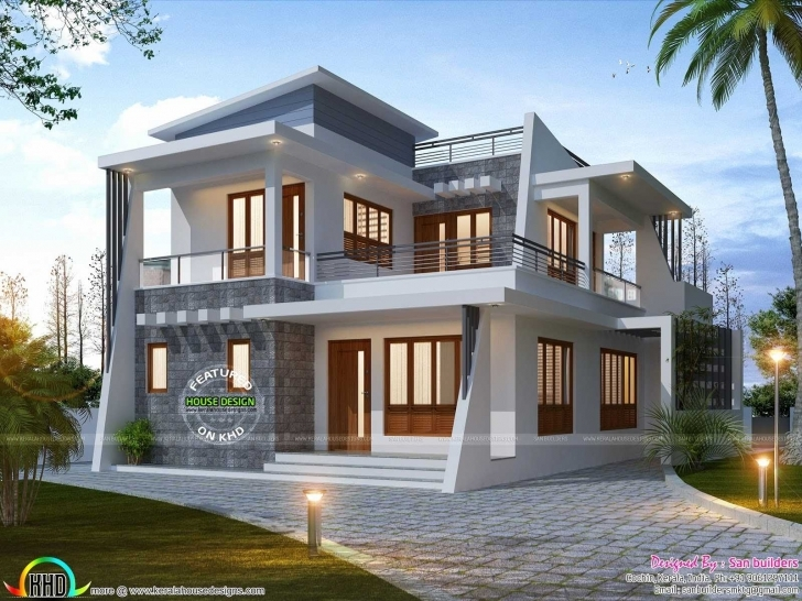 Astonishing Kerala Home Design 2018 Pictures Beautiful House Plans Awesome And Kerala Small Home Design 2018 Image