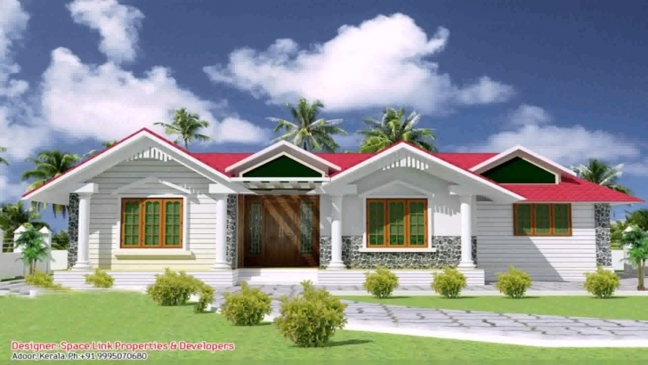 Astonishing Simple House Plans In Kerala One Floor - Youtube Simple House Kerala Pic