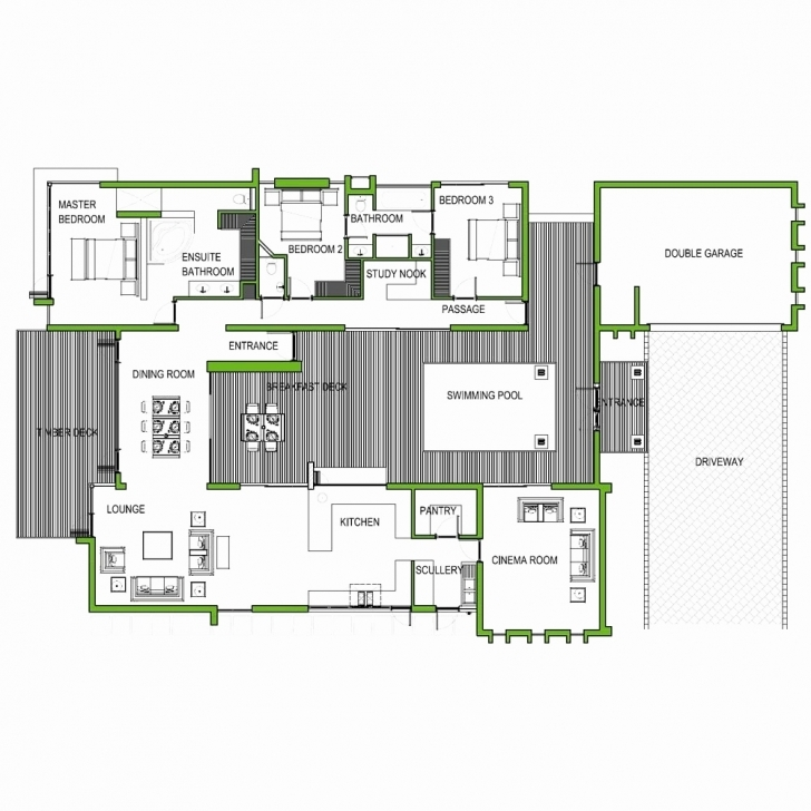 Astonishing Tuscan House Plans With Double Garage New Free Tuscan House Plans South African 3 Bedroom House Plans Pic