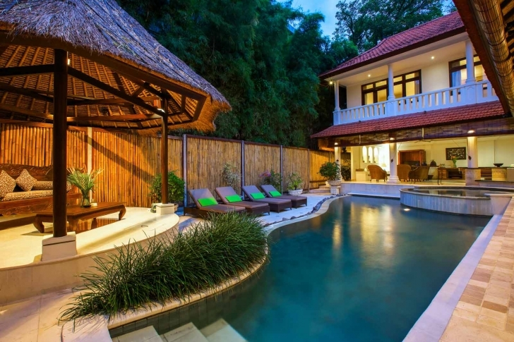 Awesome 4 Bedroom Seminyak Villas | Four Bed Seminyak Villa For Rent - Villa 4 Bedroom Villa In Seminyak Photo