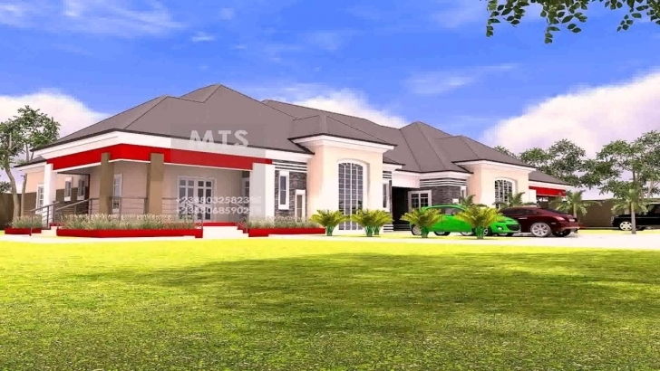 Awesome 5 Bedroom Bungalow House Plans Nigeria - Youtube 5 Bedroom Bungalow House Plans In Nigeria Picture