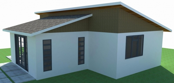 Awesome Awesome Pictures 2 Bedroom House Plans With Flat Roof - Home Inspiration Modern Two Bedroom House Plans In Kenya Photo