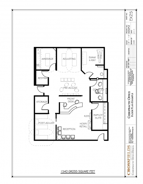 Awesome Chiropractic Office Floor Plans | Office Floor Plan, Chiropractic 1540 House Plan Picture