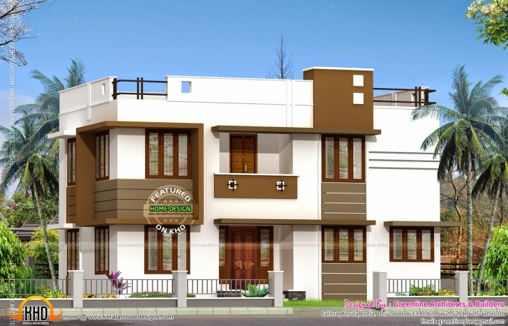Awesome Low Budget Double Storied House Kerala Home Design Floor Plans Kerala House Plans Below 25 Lakhs Photo