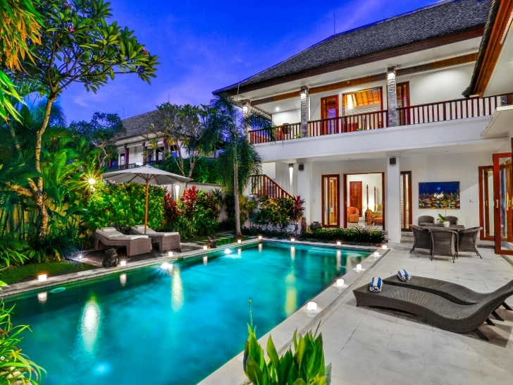Best 1, 2, 3, 4 & 5 Bedroom Villas For Rent In Bali | Bali Villa Escapes 4 Bedroom Villa In Seminyak Picture
