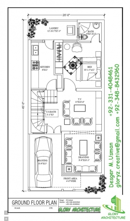 Best 20 X 45 | Working Plans | Pinterest | House, Indian House Plans And 20 X 50 Duplex House Plans Photo