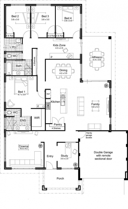 Best 40 Best 2D And 3D Floor Plan Design Images On Pinterest | House 2d Home Plan Drawing Download Photo