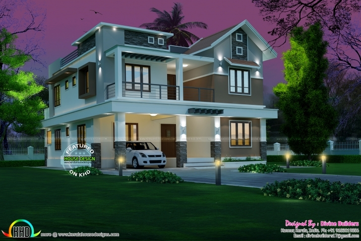 Best April 2017 - Kerala Home Design And Floor Plans Kerala Contemporary House Designs 2017 Image