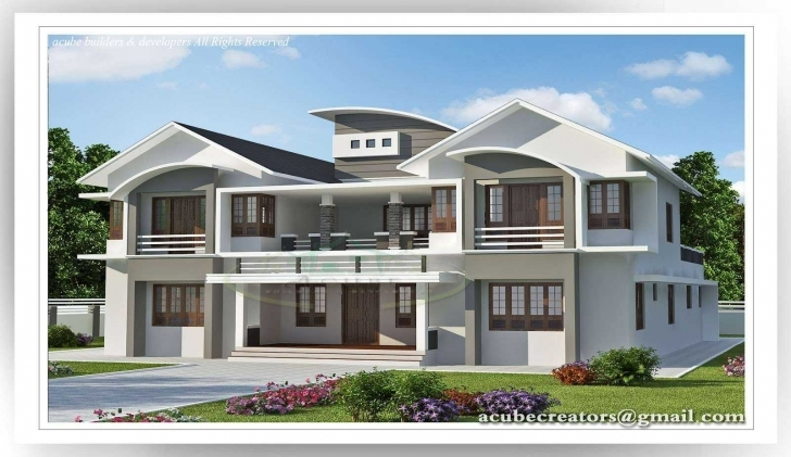 Best Fabulous 6 Bedroom House Designs Plans 3D Including Living Room 6 Bedroom 3d House Plan Image
