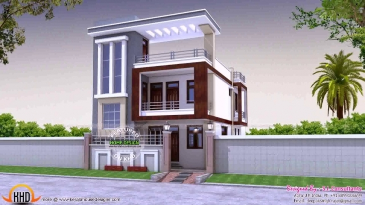 Best Home Design For 30X50 Plot - Youtube Front Elevation Of Indian House 30x50 Site Photo