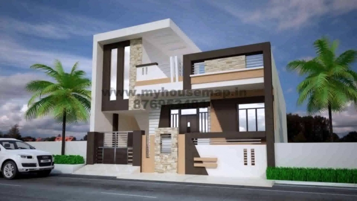 Best House Plans Front Elevation India - Youtube Front Elevation Design For House In India Photo