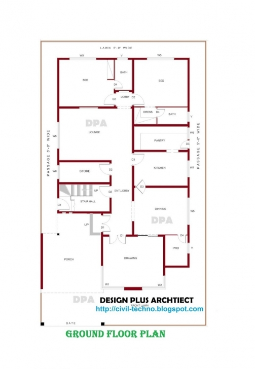 Best House Plans With Photos In Pakistan Uncategorized Designs Floor 25 By 50 House Designs Photo