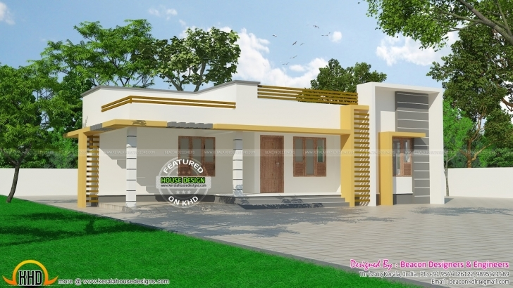Best New Small House Plans In Kerala With Photos Gallery - Home Design Small House Plans In Kerala Picture
