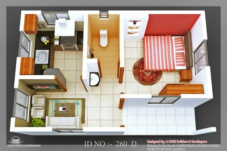 Best Single Bedroom House Plans Indian Style South Indian 3 Bedroom House 1 Bedroom House Plans Indian Style Photo