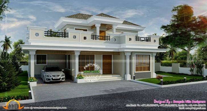Best Stylish House Exterior - Kerala Home Design And Floor Plans Kerala House Planners In Abu Dhabi Photo