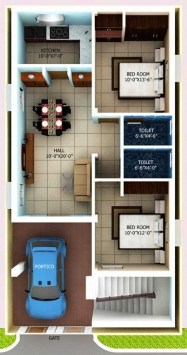Best The Best Sq Ft House Plans With Car Parking Unique Bedroom Picture 1000 Sq Ft House Plans 2 Bedroom With Car Parking Image