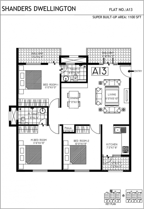 Brilliant 1400 Sq Ft House Plans In India Beautiful 1100 Sq Ft House Plans 1100 Sq Ft House Plans Photo