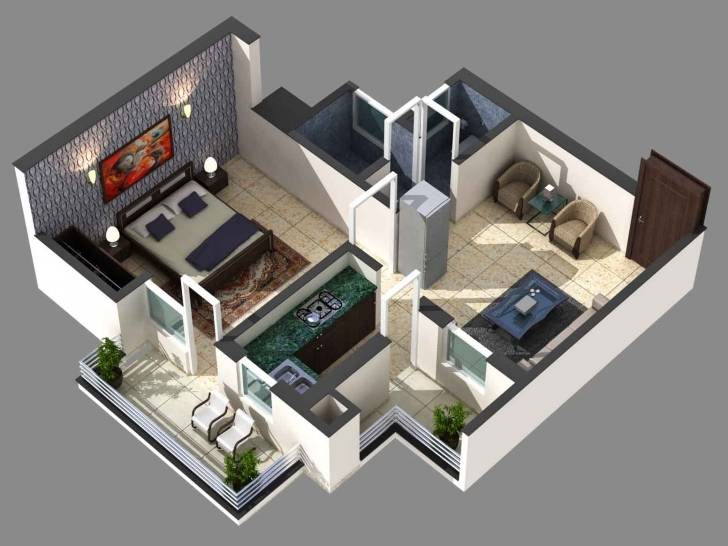 Brilliant Awesome 1000 Sq Ft House Plans 2 Bedroom Indian Style — House Style 1000 Sq Ft House Plans Indian Style Photo