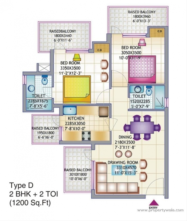 Brilliant Floor Plan For Bedroom House In Plans With Ideas 1200 Sq Ft 4 3D Of Indian House Plans For 1200 Sq Ft 3d Photo