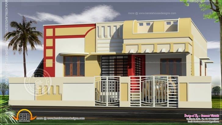Brilliant Home Architecture: Indian Style Home Plan And Elevation Design House Elevation Designs Indian Style Photo