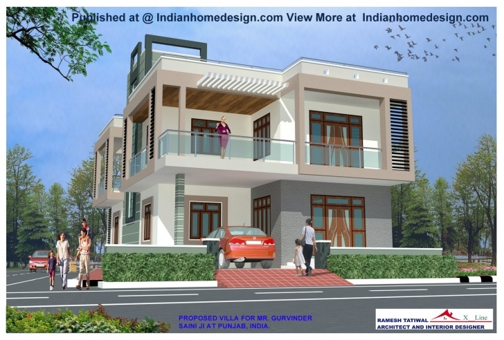 Brilliant House Designs India Front - Building Plans Online   #48012 Home Design Front View In India Picture