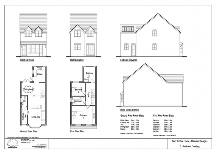 Brilliant Lovely 3 Story House Plans Uk | Tinyhousetravelers 3 Bedroom House Plans Uk Pic