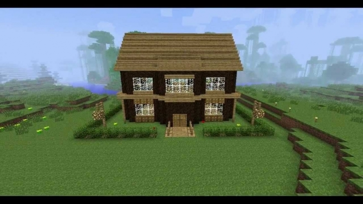 Brilliant Minecraft House Building Ideas Youtube - Building Plans Online | #23731 Nice House Designs In Minecraft Image