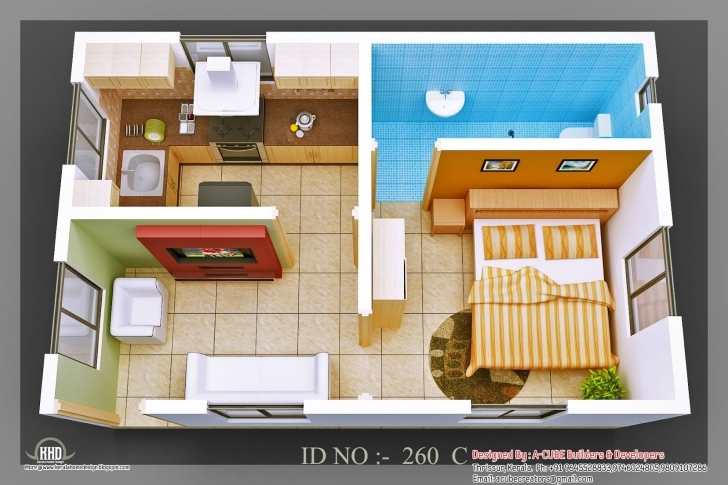 Brilliant Single Bedroom House Plans Indian Style Small Indian House Plans 1 Bedroom House Plans Indian Style Photo