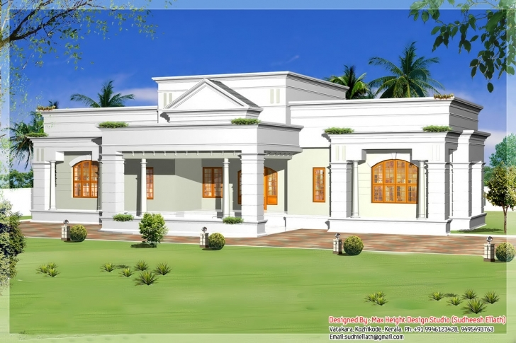 Brilliant Single Storey Kerala House Model Plans - Building Plans Online | #51063 Kerala Model House Single Floor Image