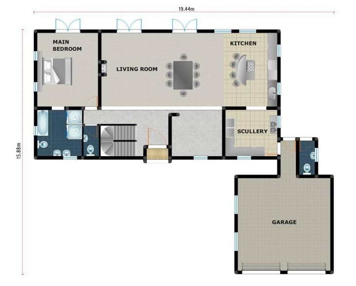 Brilliant Small 3 Bedroom House Plans In South Africa Three Bedroom House South African House Plans 3 Bedroom Photo