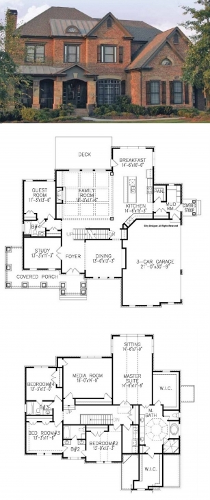 Brilliant Traditional House Plan With 3962 Square Feet And 5 Bedrooms From 5 Bedroom Dormer Bungalow Plans Photo
