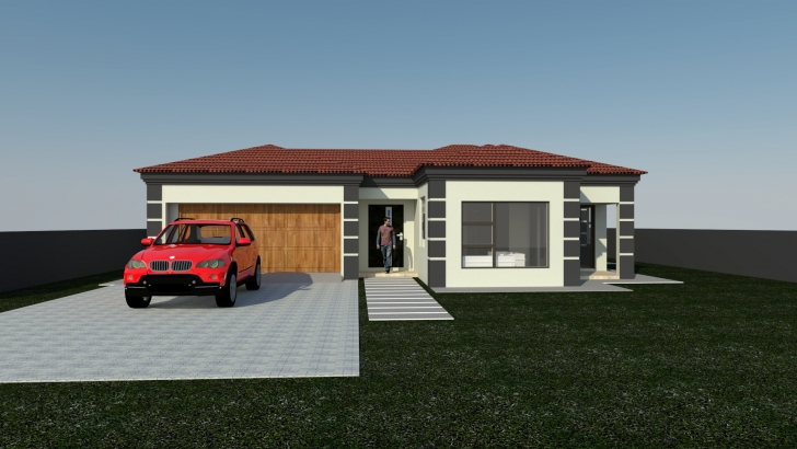 Brilliant Two Bedroom Tuscan House Plans Fresh Plan Bla 107S My Endear Home 3 Bedroom House Plans In Gauteng Image