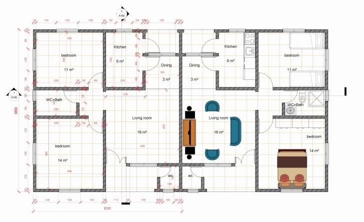 Classy Four Bedroom House Plan In Nigeria Unique 3 Bedroom Flat House Plan Four Bedroom Flat Plan Photo
