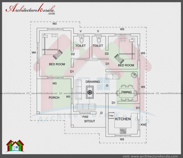 Classy House Plan For 1000 Sq Ft East Facing | Daily Trends Interior Design 1000 Sq Ft House Plan Indian Design East Facing Image